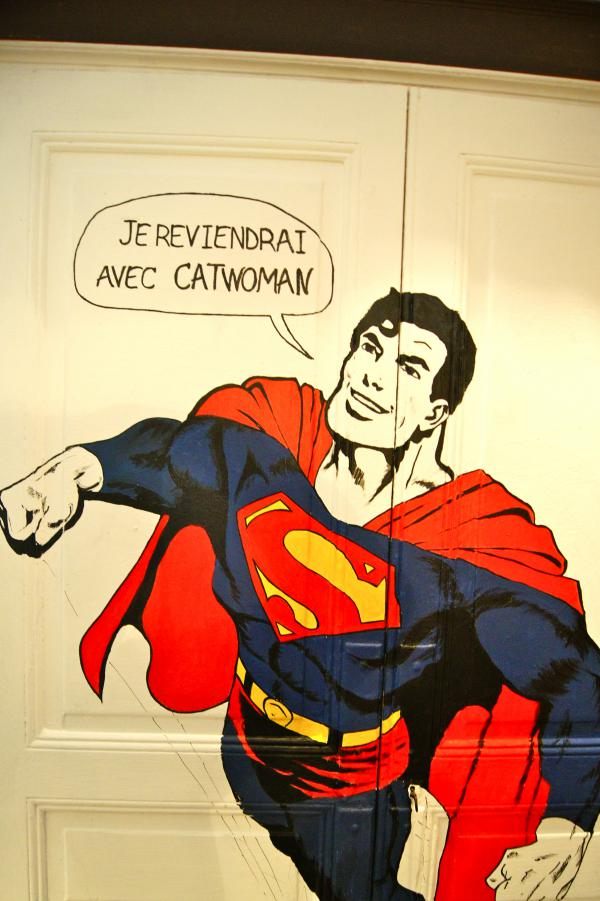 Welcome Superman   la Maison de Louna Maison d'hôtes Design et Vintage